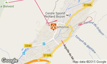 Kaart Chamonix Mont-Blanc Appartement 70575