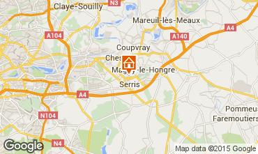 Kaart Marne la Vall�e Appartement 102119