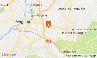 Kaart Châteauneuf-de-Gadagne Vakantiehuis 106635