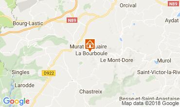 Kaart La Bourboule Appartement 115202
