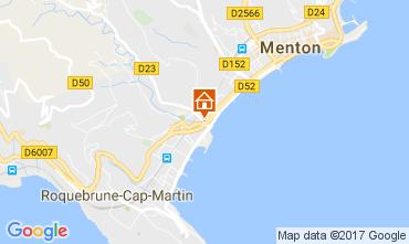 Kaart Roquebrune Cap Martin Appartement 107713