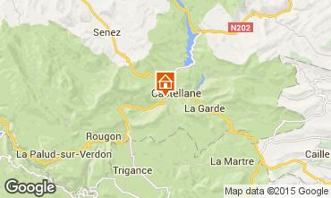 Kaart Castellane Appartement 72835