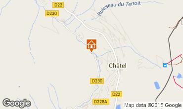 Kaart Châtel Chalet 73656