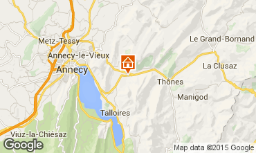 Kaart Annecy Chalet 845
