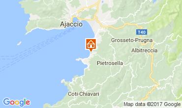 Kaart Porticcio Villa 87260