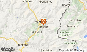 Kaart Morzine Chalet 58010