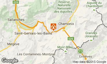 Kaart Chamonix Mont-Blanc Chalet 99958
