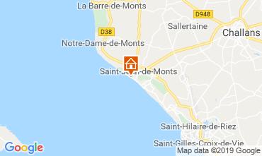 Kaart Saint Jean de Monts Appartement 51553