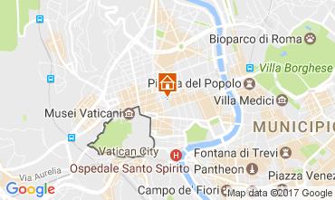 Kaart Rome Appartement 105581