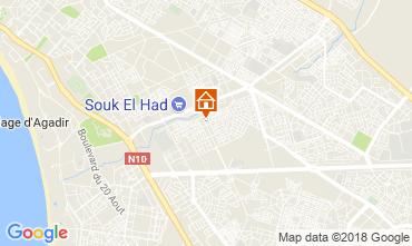 Kaart Agadir Appartement 116010