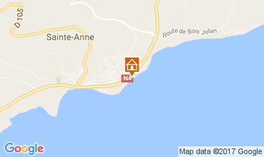 Kaart Sainte Anne(Guadeloupe) Appartement 73124