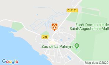 Kaart La Palmyre Appartement 81259