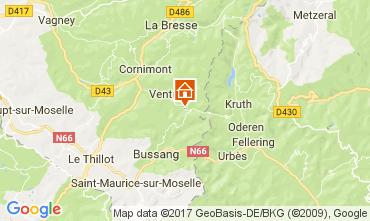 Kaart Ventron Chalet 112488