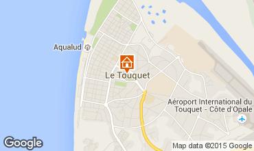Kaart Le Touquet Appartement 66471