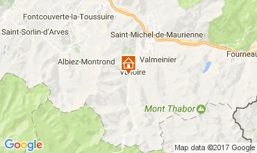 Kaart Valloire Vakantiehuis 108351