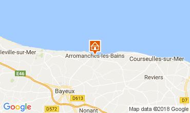 Kaart Arromanches Vakantiehuis 113148
