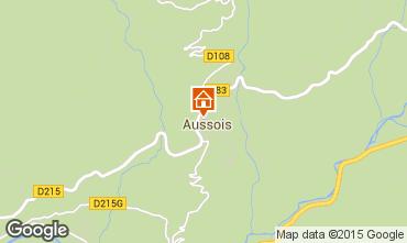 Kaart Aussois Appartement 80820
