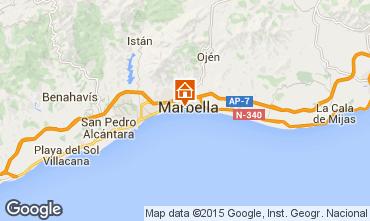 Kaart Marbella Appartement 37100