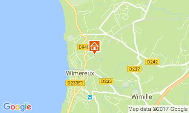 Kaart Wimereux Vakantiehuis 109892