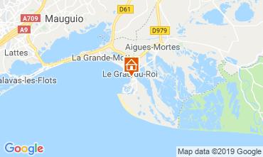 Kaart Le Grau du Roi Appartement 82195