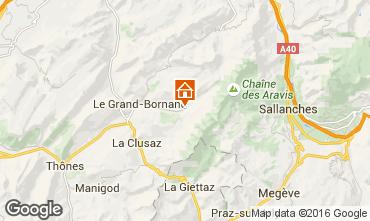 Kaart Le Grand Bornand Chalet 66538