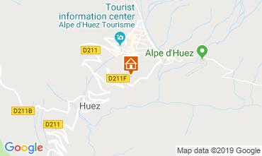 Kaart Alpe d'Huez Appartement 117531