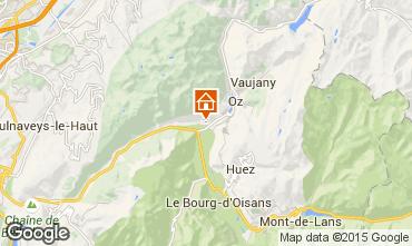 Kaart Alpe d'Huez Appartement 65901