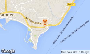 Kaart Cannes Appartement 39310