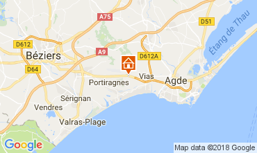 Kaart Vias Stacaravan 73618