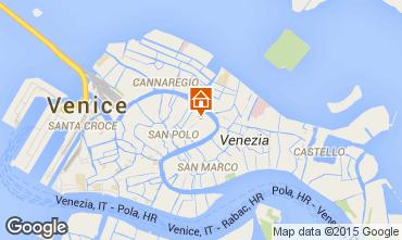 Kaart Venetië Appartement 21031