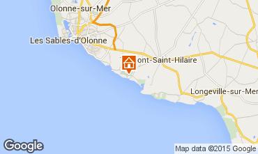 Kaart Talmont-Saint-Hilaire Appartement 7129