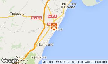 Kaart Vinaròs Villa 102775