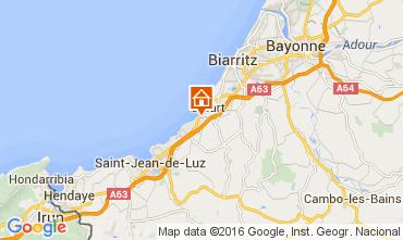 Kaart Biarritz Appartement 45375