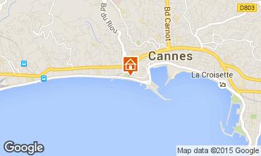 Kaart Cannes Appartement 5542