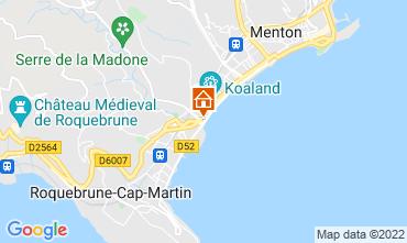 Kaart Menton Appartement 119398