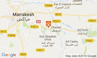 Kaart Marrakech Villa 80370