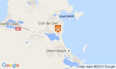 Kaart Orient Beach Villa 73832