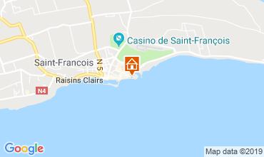 Kaart Saint Francois Appartement 31362