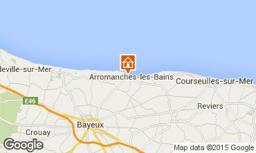 Kaart Arromanches Vakantiehuis 81097