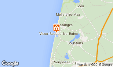 Kaart Vieux Boucau Appartement 10054