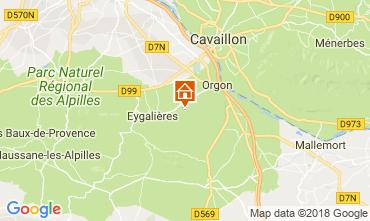 Kaart Eygalières Huis 114443
