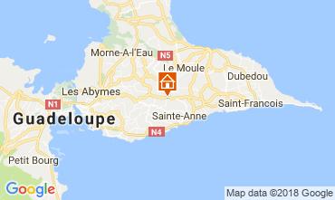 Kaart Sainte Anne(Guadeloupe) Huis 115139