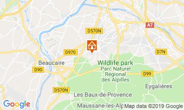 Kaart Saint Rémy de Provence Vakantiehuis 118685