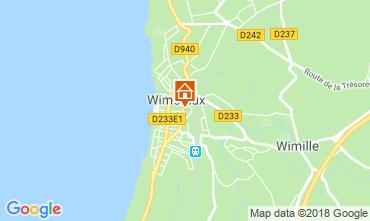 Kaart Wimereux Appartement 116258