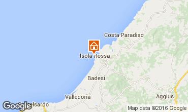 Kaart Isola Rossa Studio 55748