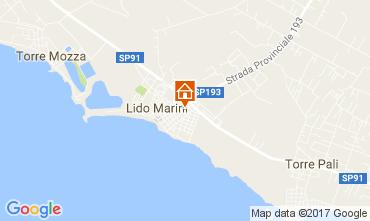 Kaart Lido Marini Huis 107649