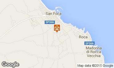 Kaart San Foca Appartement 79395
