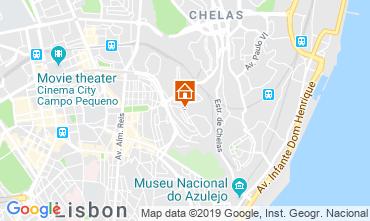 Kaart Lissabon Appartement 116868