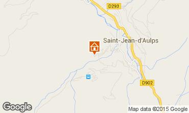 Kaart Saint Jean d'Aulps- La Grande Terche Chalet 55341