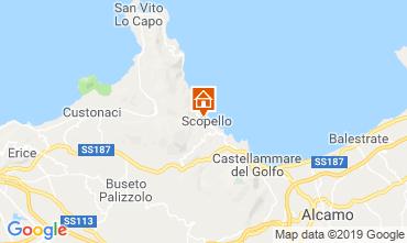Kaart Scopello Villa 66027